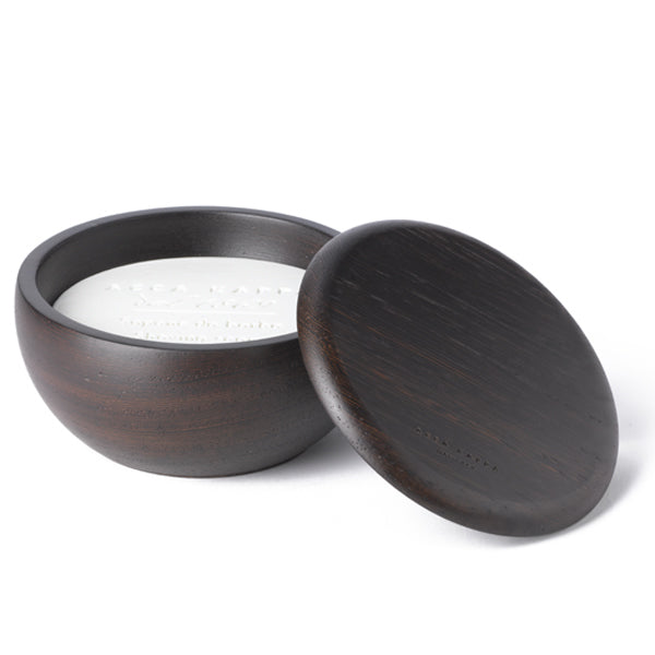 Acca Kappa Wenge Bowl with Almond Shaving Soap