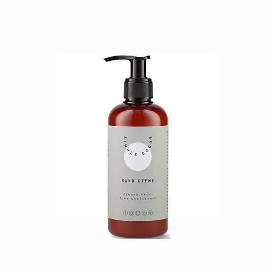 Simple Goods Hand Cream Ingwer, Salbei & Pink Grapefruit 250ml