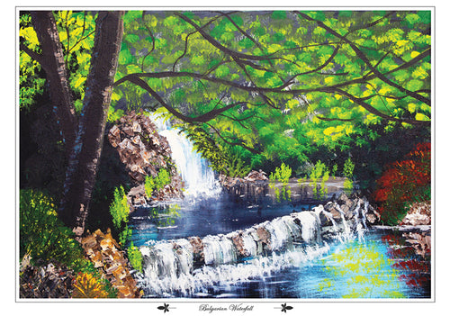Bulgarian Waterfall, fine art print
