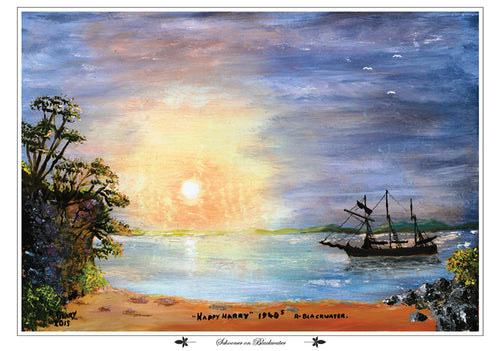 Schooner on Blackwater, fine art print
