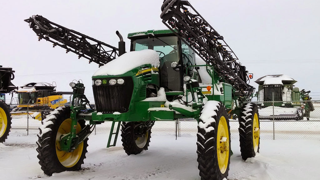 Sprayer Winterizing Tips to Save You Time and Money