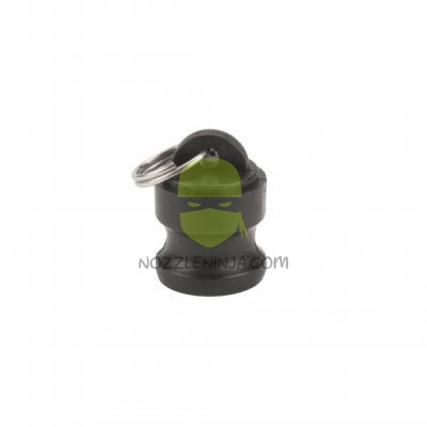 Dust Plug, MALE CAM (Fits 1inch and 1-1/4inch)