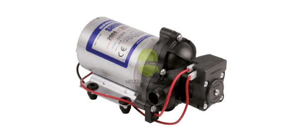 Shurflo 2088 12V DC motor automatic demand pump 2.8gpm@40psi