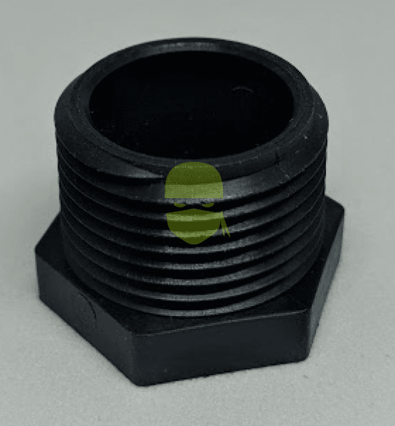 0.75 inch mpt Poly Pipe Plug