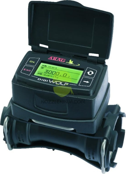 "DigiWolf Visual Flow meter 12vdc cable 1.5"" (5-106 us gpm) (20 to 400lpm)"