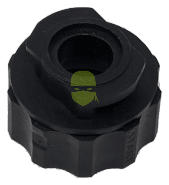 Twist Lock ISO Square Lug to Wilger Combo-Jet Adaptor