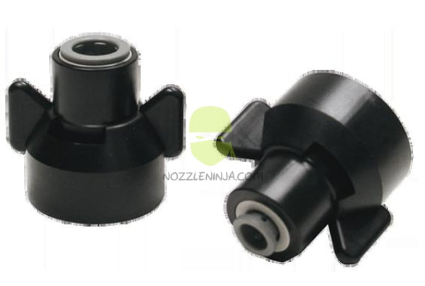 "3/8"" PTC to Nozzle Cap ISO Quick Attach Lug"