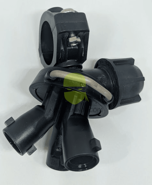 3-way carousel nozzle body for 3/4 inch pipe
