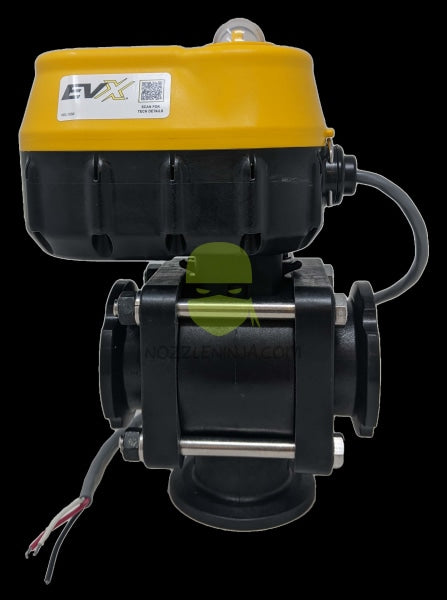 "EVX 2"" M200 3-WAY Electric Valve - Bottom LOAD - ON/OFF - 1.5 SEC"