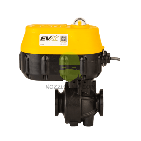 "EVX 1"" M100 Flange ELECTRIC VALVE  ON/OFF - 3/4 SEC."