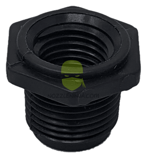 "3/8"" MPT x 1/4"" FPT REDUCING BUSHING"