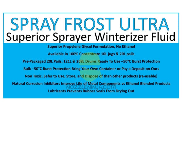 Spray Frost Ultra Ready To Use Pre-Packaged Includes Container