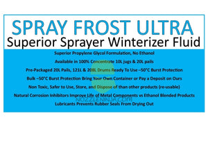 Spray Frost Ultra-Bulk