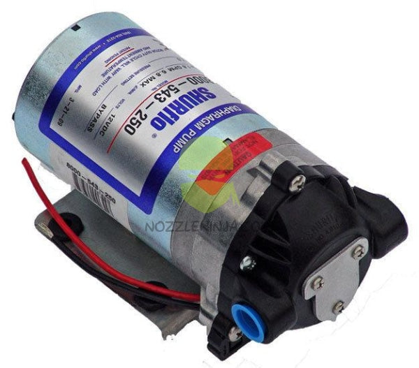 Shurflo Bypass Pump, 12 VDC, 1.8 GPM (6.8 LPM) and 50 PSI (3.4 bar) maximum