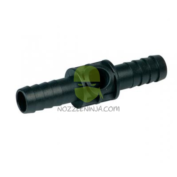 "Dry Boom Adapter 3/4""  inch single barb to 1"" Nozzle Body Clamp"