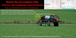 BRS-Boom Recirculation Kit-CNH Patriot Sprayer