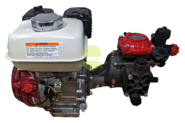 5.9gpm 290 psi Diaphragm Pump with Honda GX120