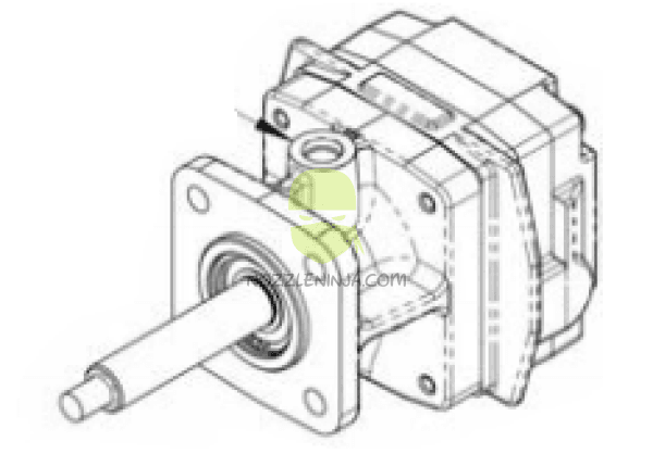 2500-0085C Hydraulic Motor For Hypro HM5C Pumps