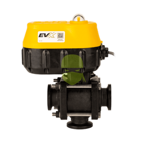"EVX 1"" 3-WAY ELECTRIC VALVE - BTM LOAD - MNFLD FLNG - ON/OFF - 3/4 SEC."