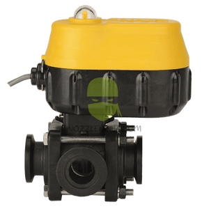 "EVX 1"" M100 Flange 3-WAY ELECTRIC VALVE - SIDE LOAD -ON/OFF - 3/4 SEC."