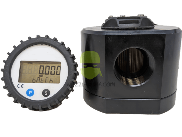 "1.5"" Oval Gear Flow Meter with Remote Display"