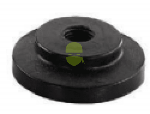FLANGE PLUG 1 IN  threaded .25 inch FPT
