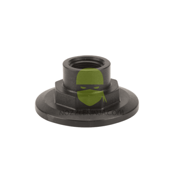 "2"" Full port flange plug with 3/4"" fpt guage port"