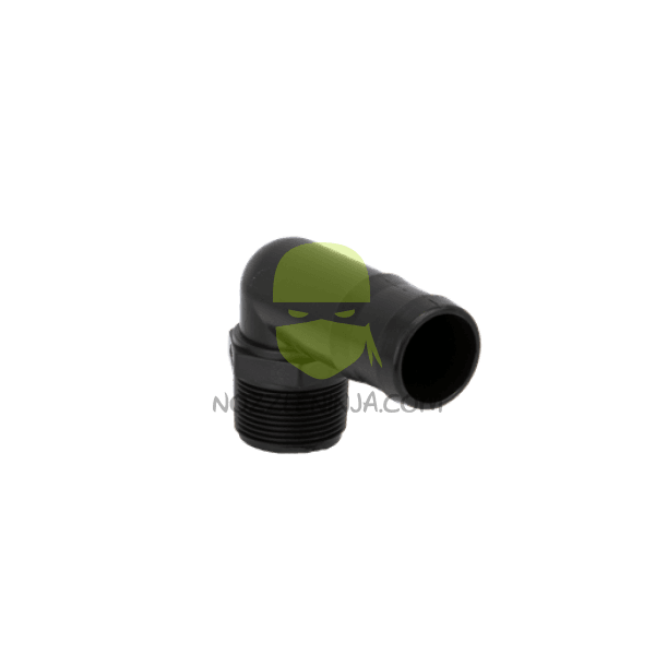 "1-1/4"" MPTx 1-1/2"" HB ELBOW POLY"