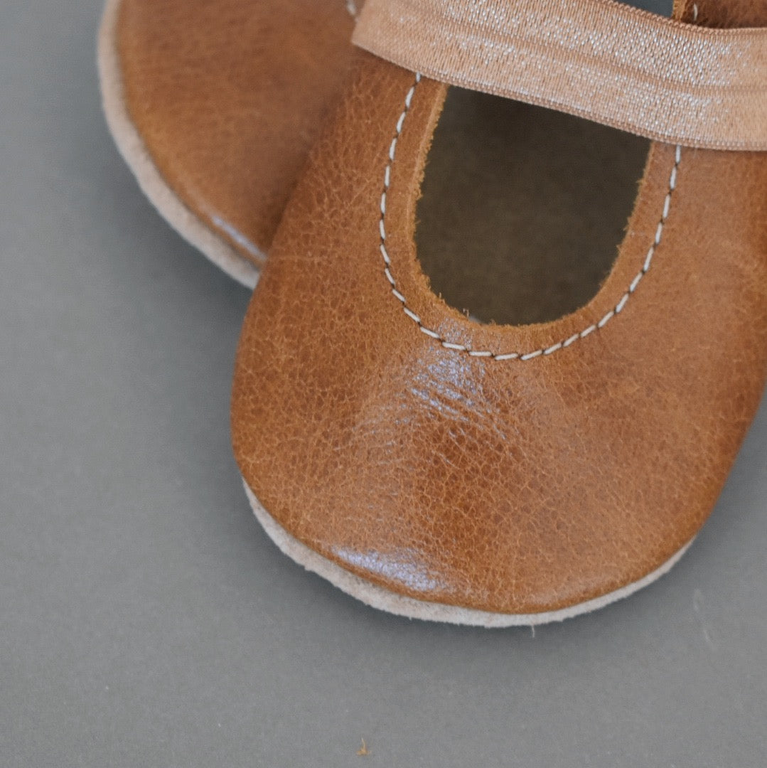 SALE ballet flats - brown
