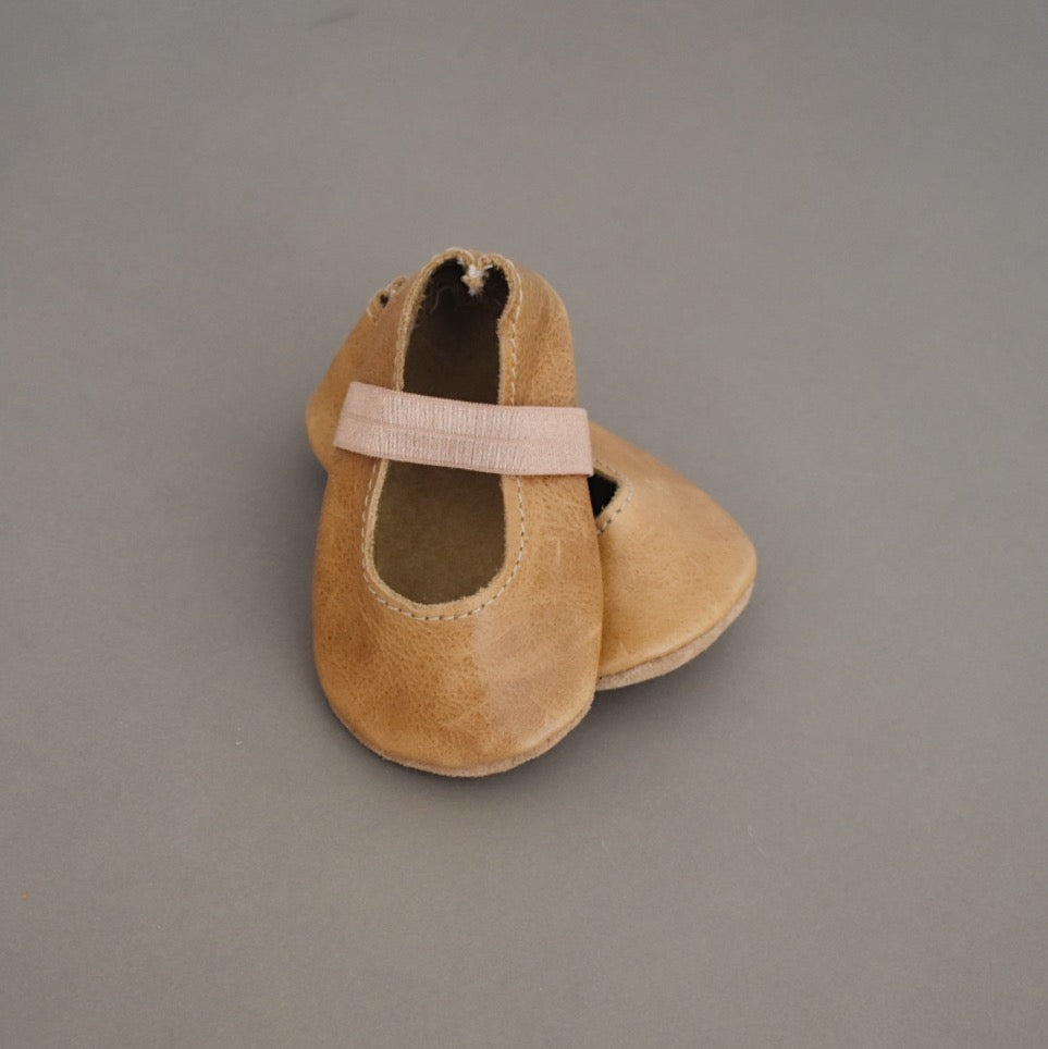 SALE ballet flats - light brown