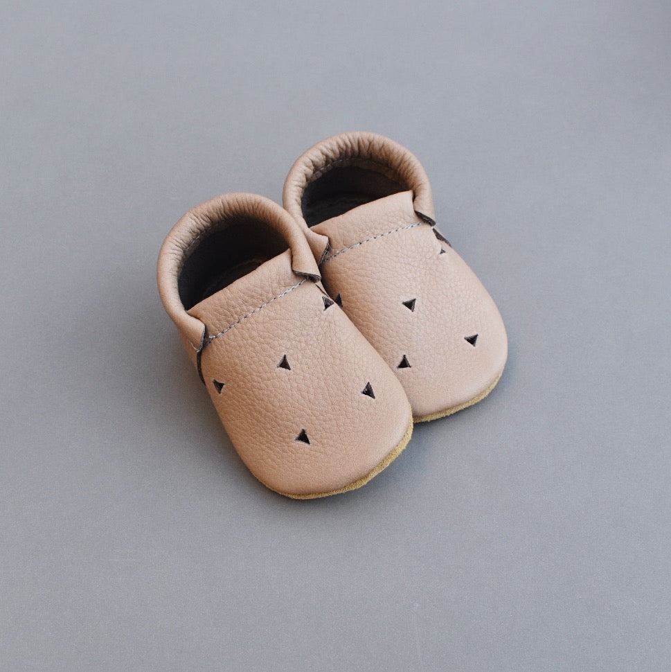 loafers - CORK with cutouts