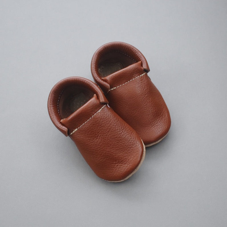 SALE loafers - brown (only size 1 left!)
