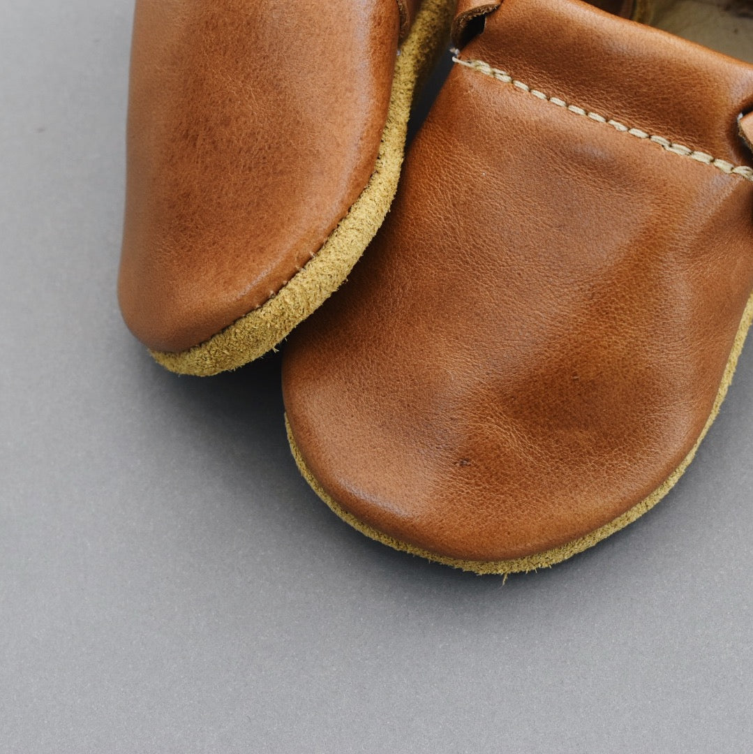 SALE loafers - walnut (only size 1 and 2 left!)