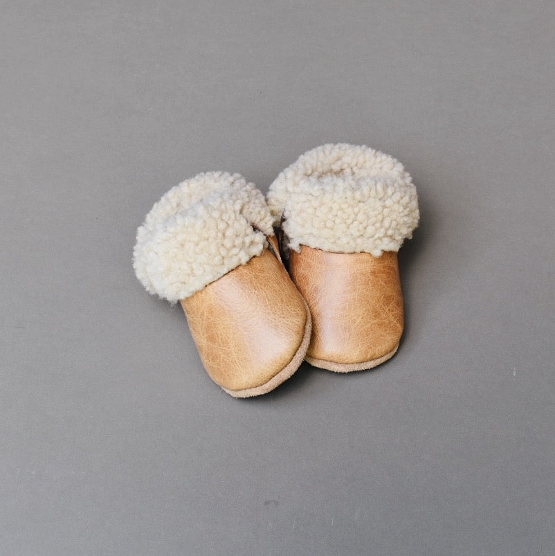 PRE-ORDER Shearling Lined Shoes - weathered