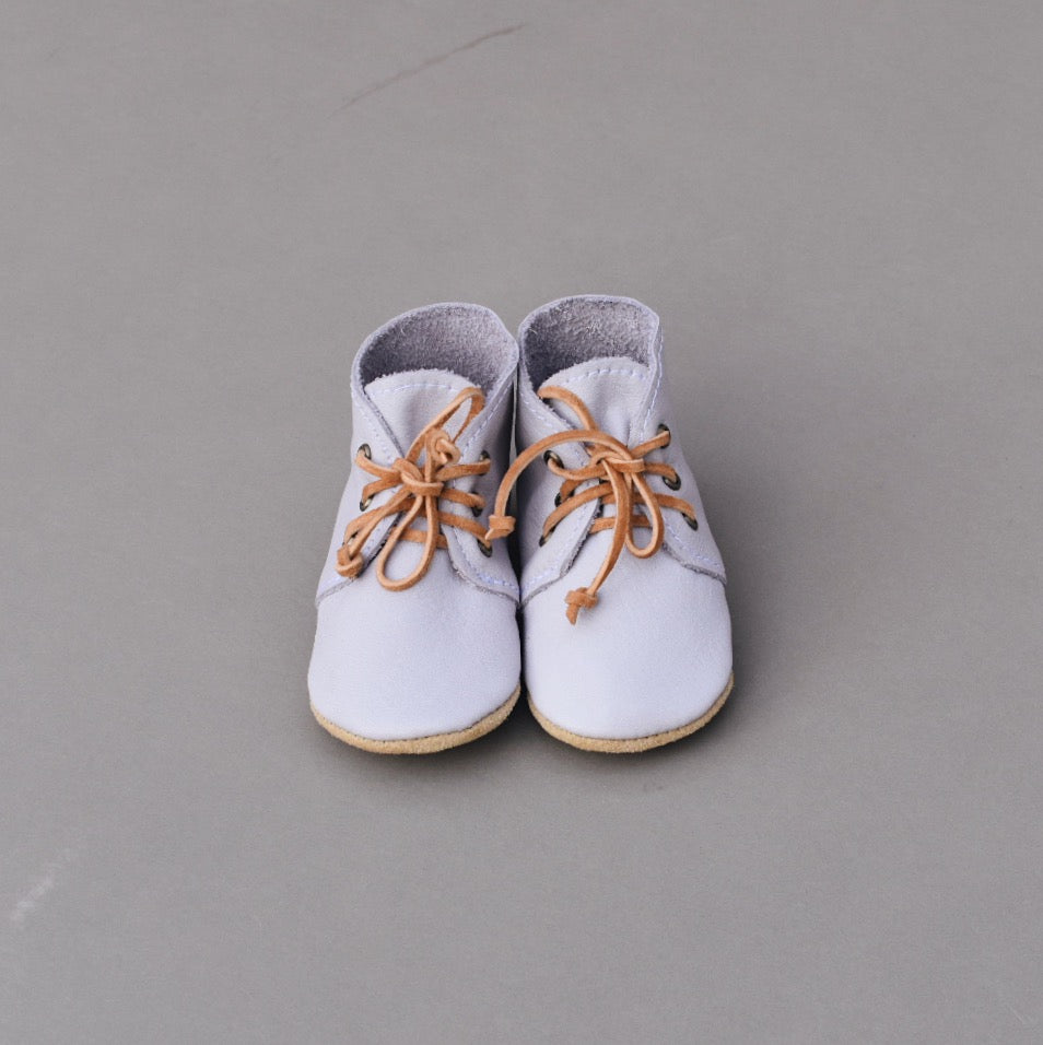 SALE Desert Boots - lilac (one pair left SIZE 1)