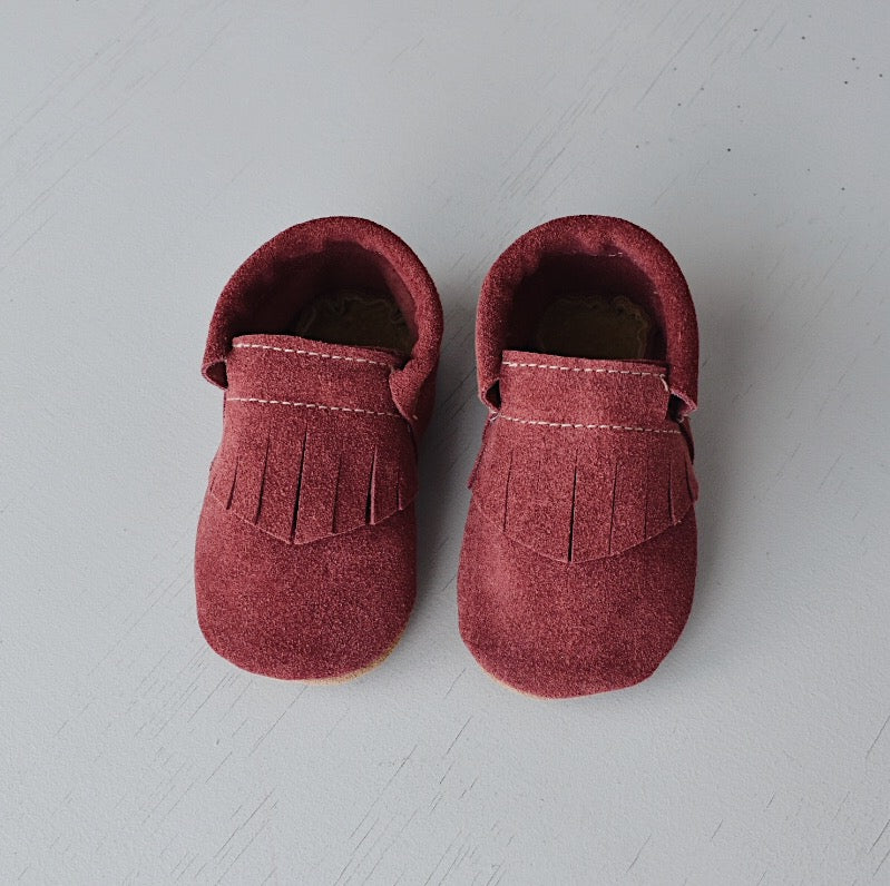 SALE loafers- berry