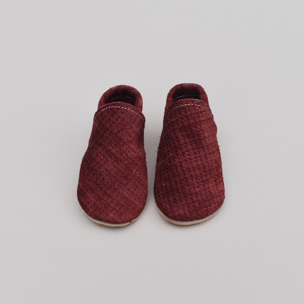 loafers - currant