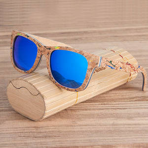 Wood Sunglasses For Men And Women With Different Color Details.
