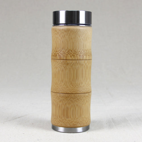 450ml Natural Bamboo Travel Thermos Cup