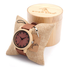 Bamboo Watch with Nylon Band
