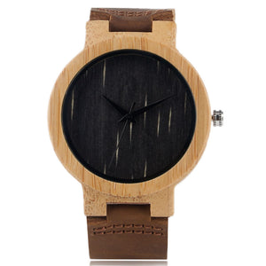 Bamboo Wood Watch - choose from 3 different colors
