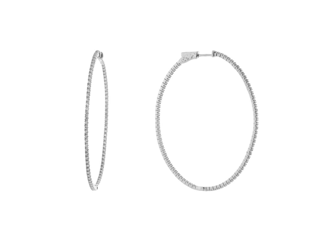 LRG Inside-Out Hoop Earrings