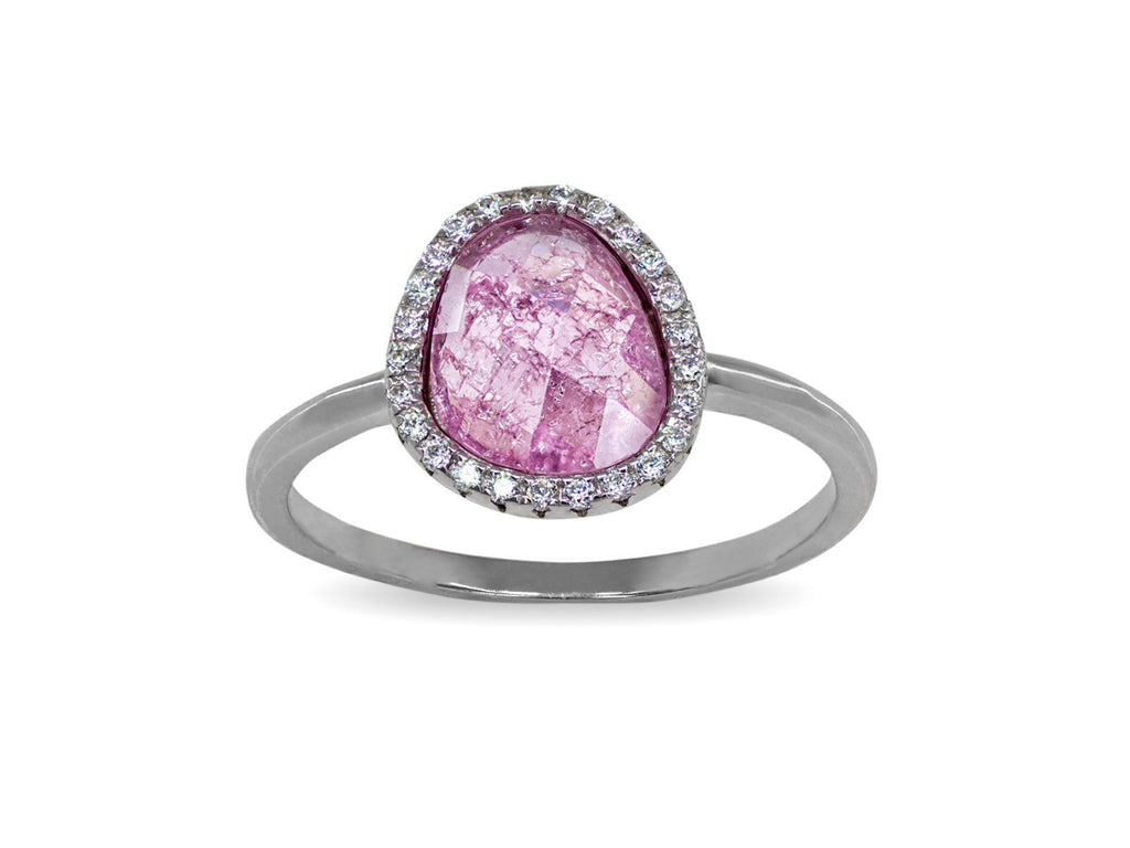 Rose Paraiso Band Ring