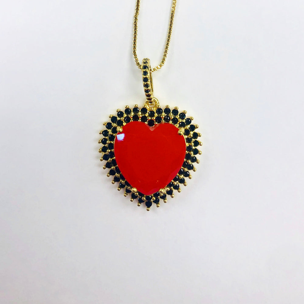 Heart aBlaze Necklace