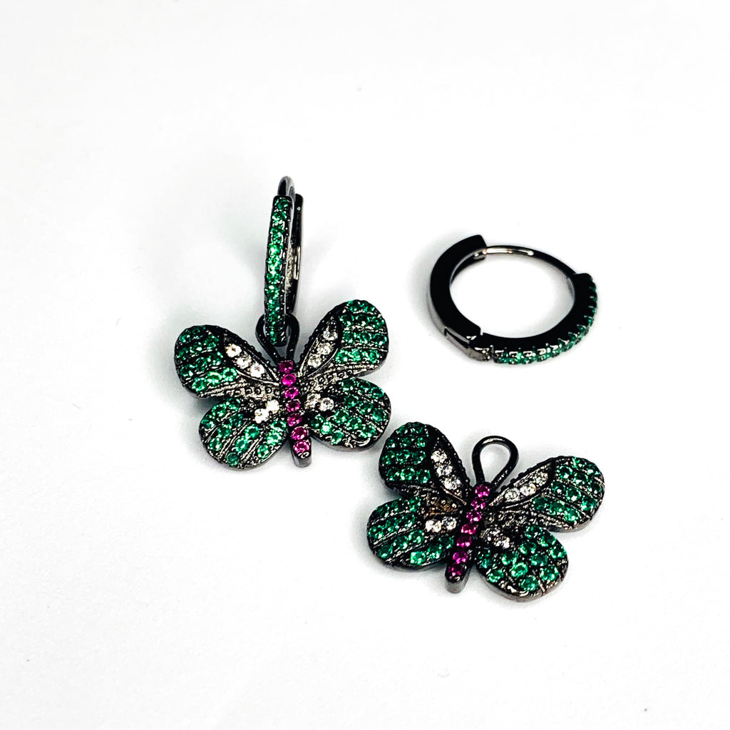 Vivid Butterfly Earrings