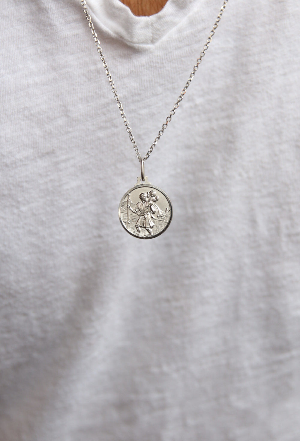 Saint Christopher's Coin (Small)
