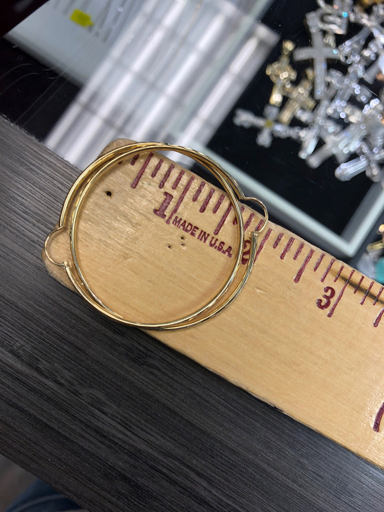 Gold Hoop Earrings - House of Fine Gold