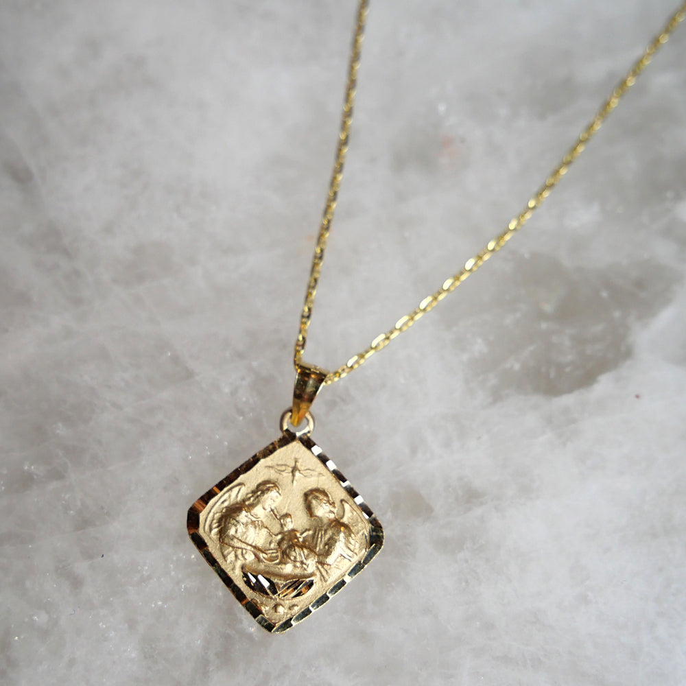 Last Supper Frame 14k Pendent Necklace - House of Fine Gold