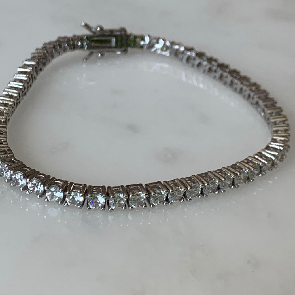 Ariana Tennis Bracelet (petite) - House of Fine Gold