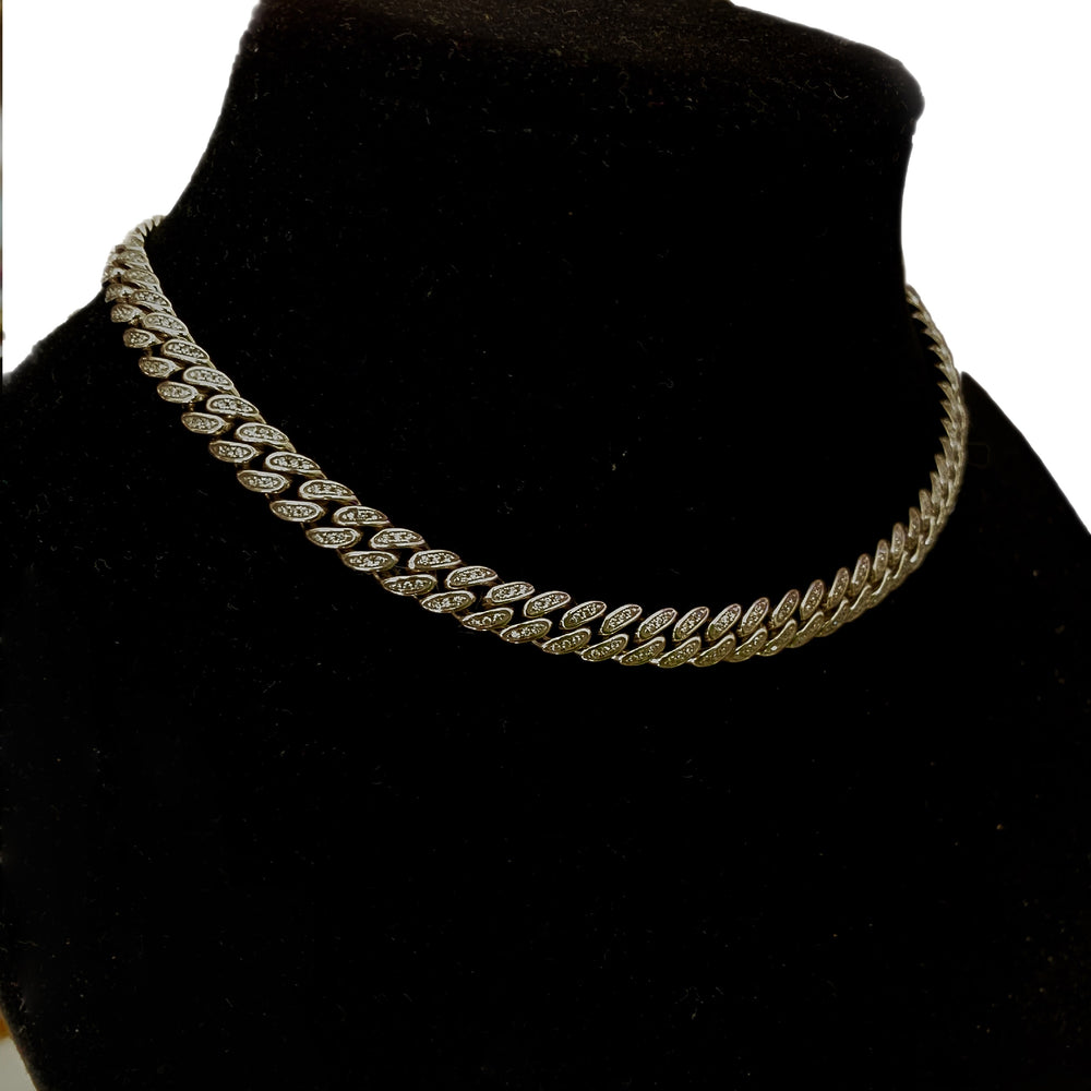 cuban link necklace for women jewelry trans necklace hip hop